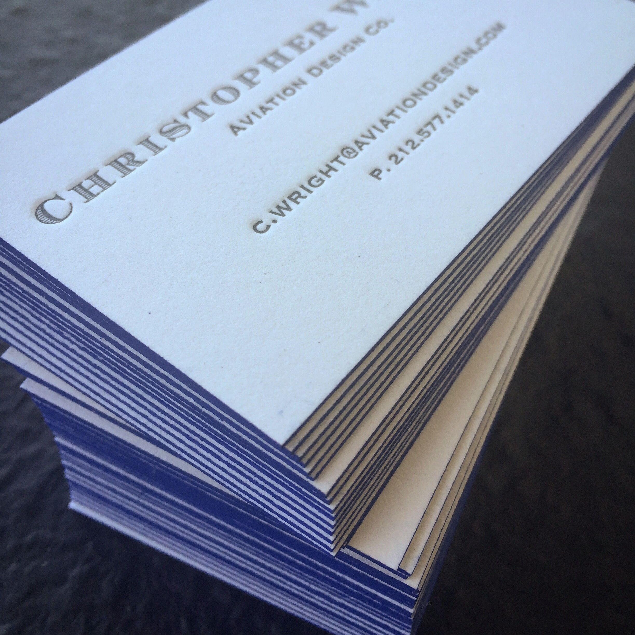 Letterpress Business Cards Online Image collections - Business Card ...
