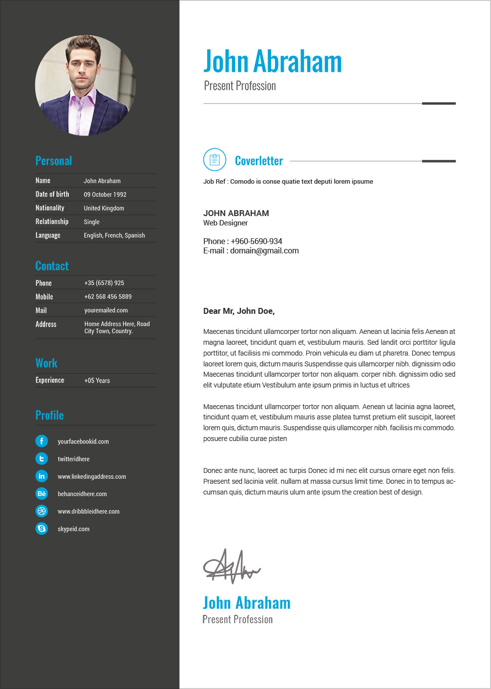 Cv Templates Docx Download (7) TEMPLATES EXAMPLE