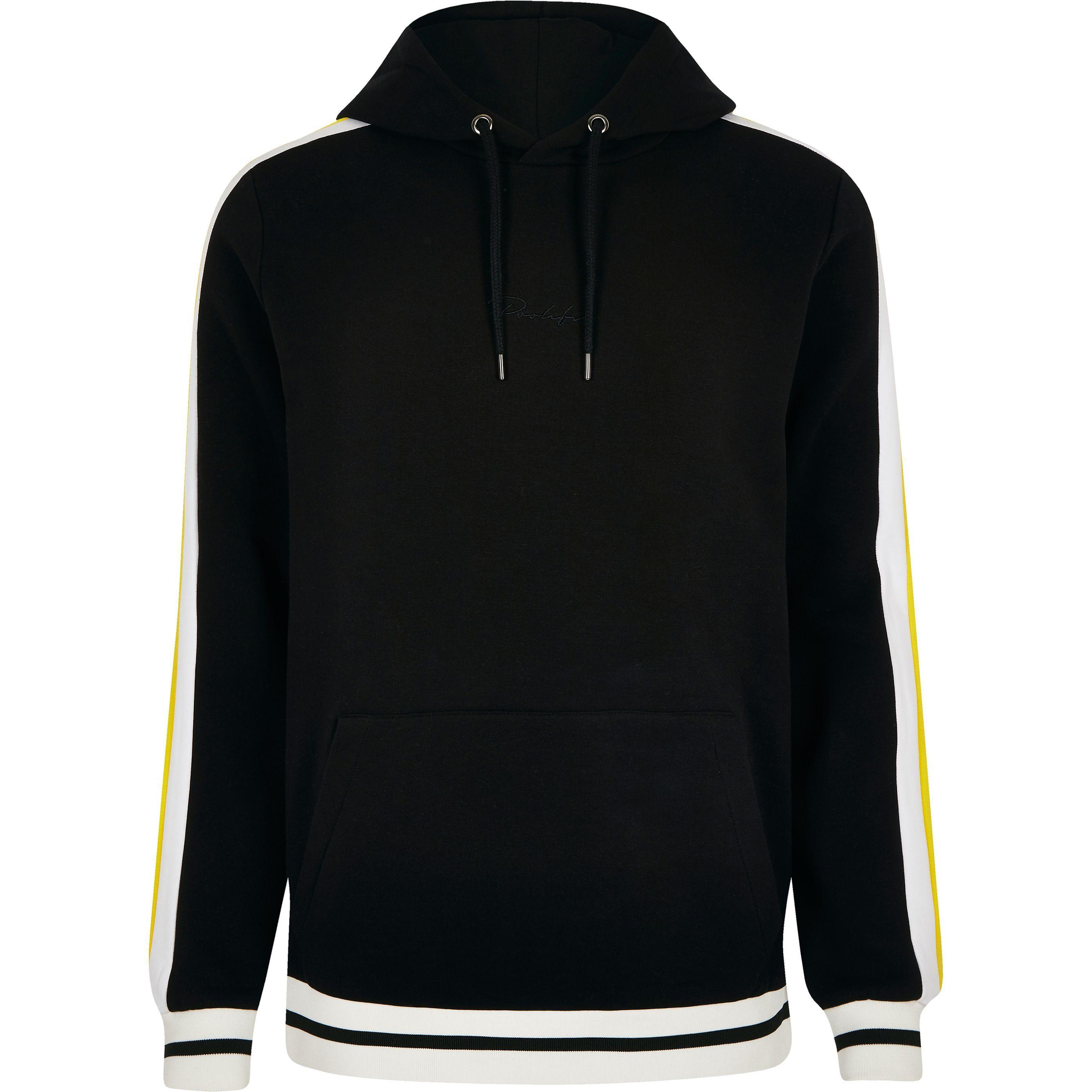877acfb4d Mens Black 'Prolific' slim fit hoodie in 2019 | Products | Slim fit ...