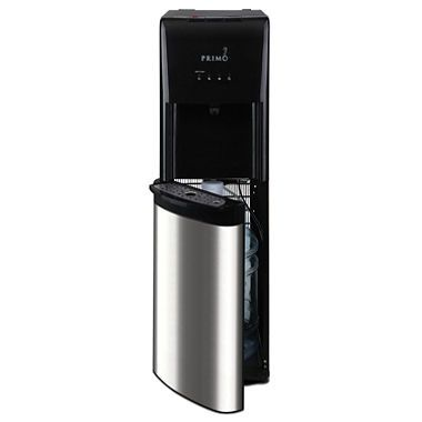 Primo Bottom Load Self Cleaning Water Dispenser, Stainless Steel/Black