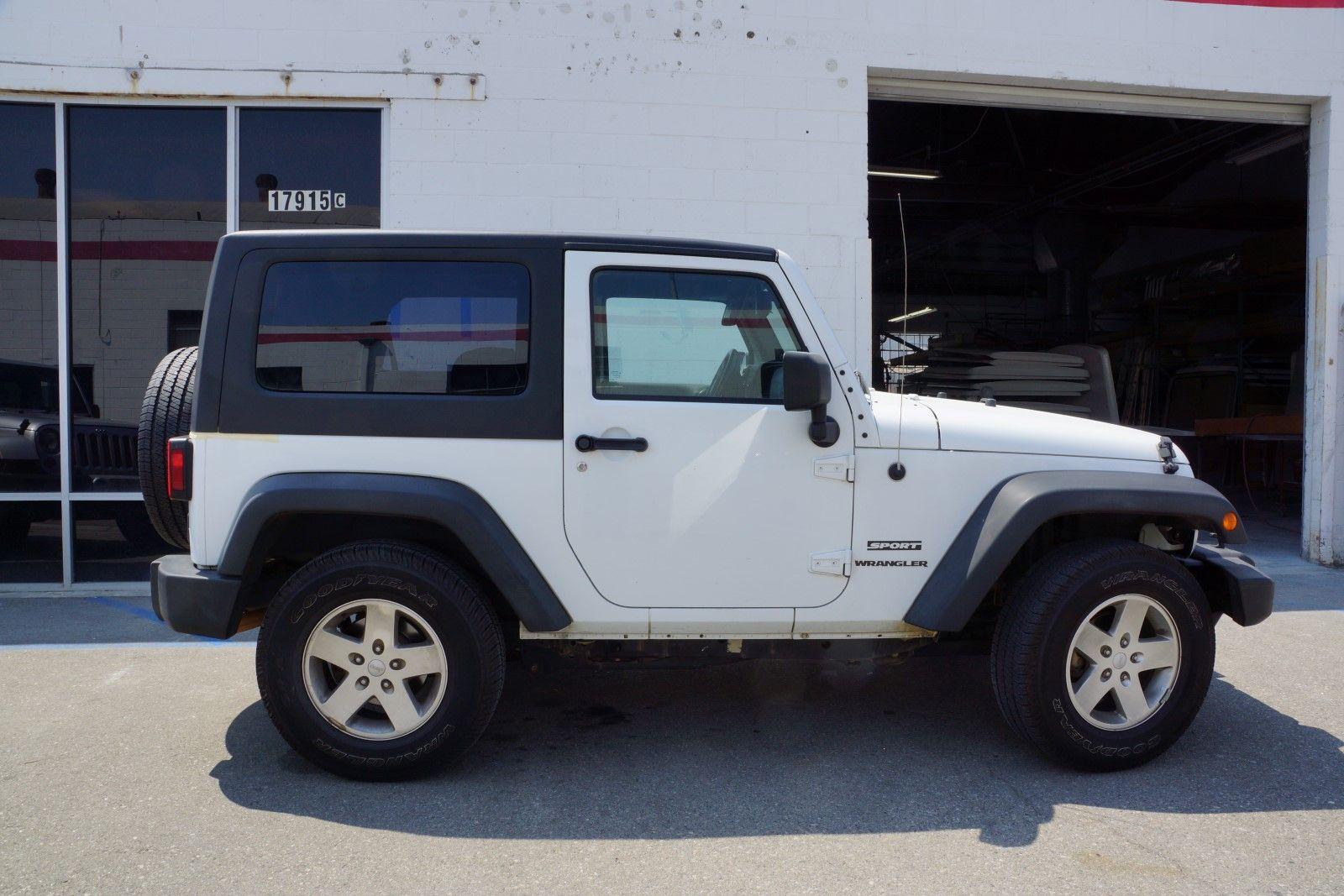 1Piece Removable Hardtop for Jeep Wrangler JK 2Door