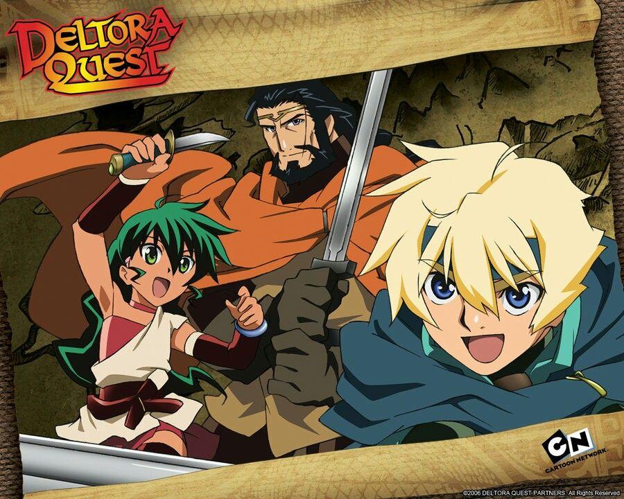 Deltora quest 2007 anime zelda characters fictional