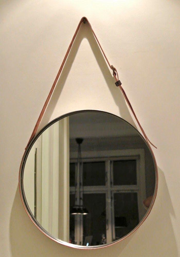 Designer Wandspiegel selber machen  Crafts  Pinterest  Runde spiegel Spiegel und Wandspiegel