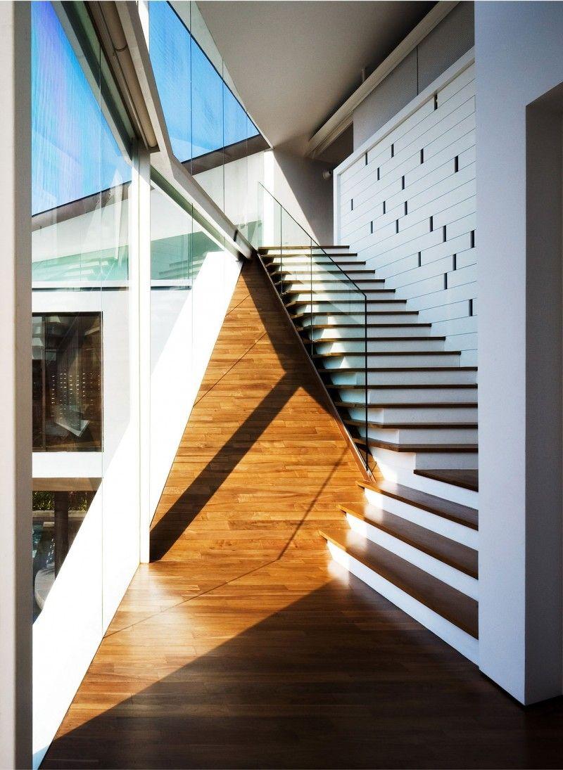 Nice Origami House By Formwerkz Architects