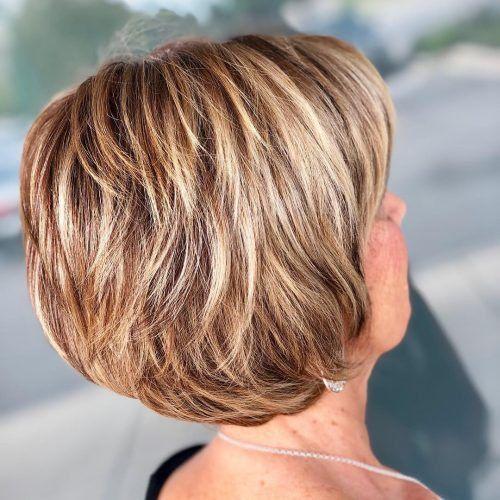 99 Best Haircut With Highlights For Women Over 60 Frisuren Frisuren Kurz Styling Kurzes Haar