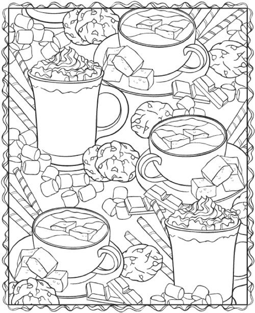 Food Coloring Book Pages Tips