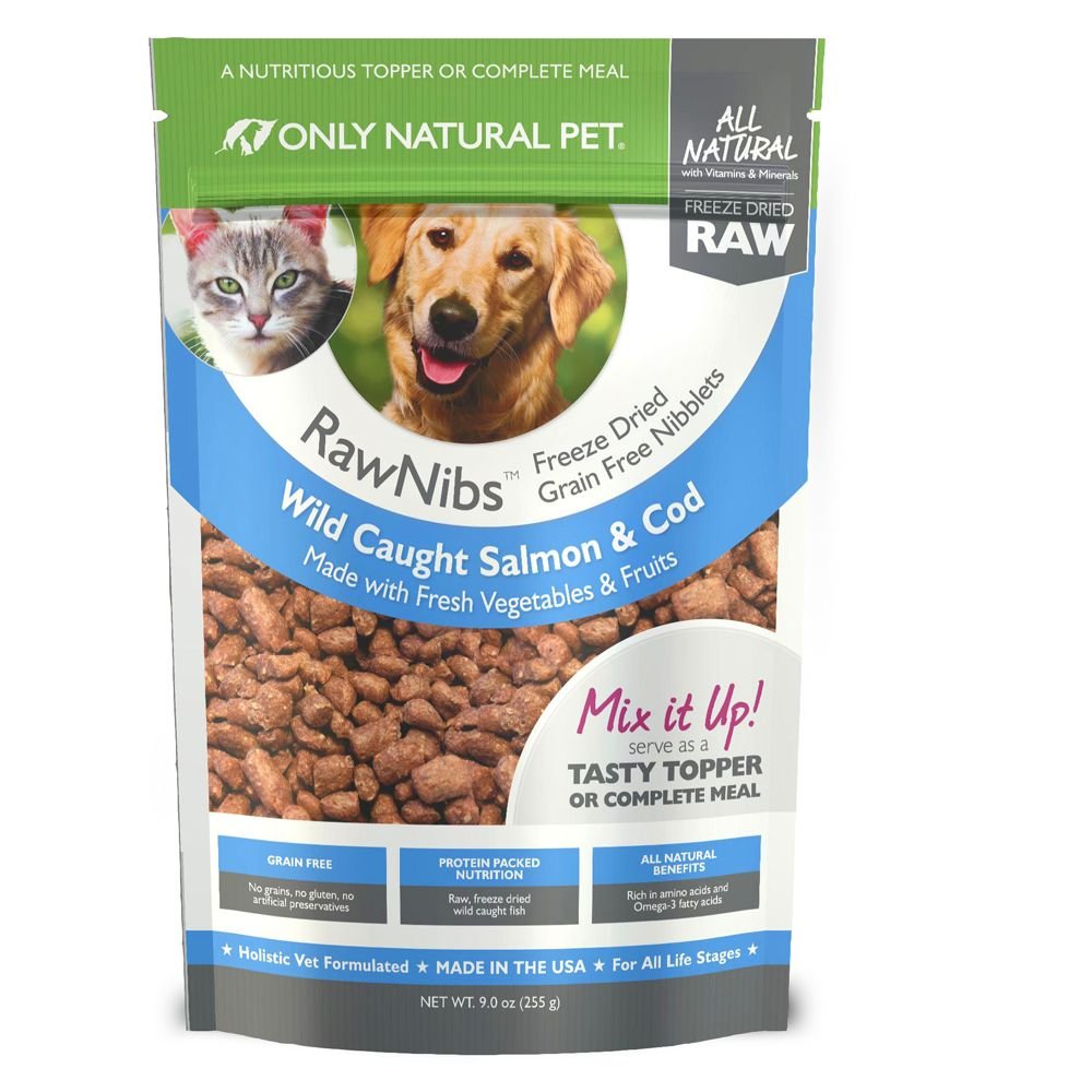 Only Natural Pet Rawnibs Pet Food Freeze Dried Raw Grain Free