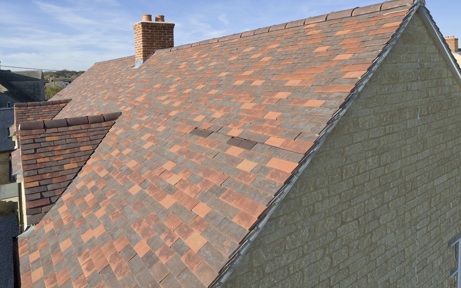 Marley Eternit Canterbury Handmade Clay Plain Tiles Were Used To Create A Unique Blend