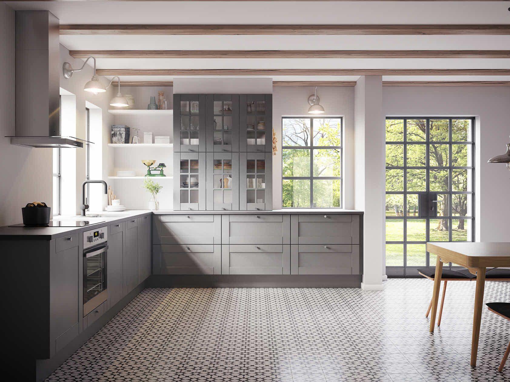 Kvik køkken grå kök kitchen ikea kitchen and grey