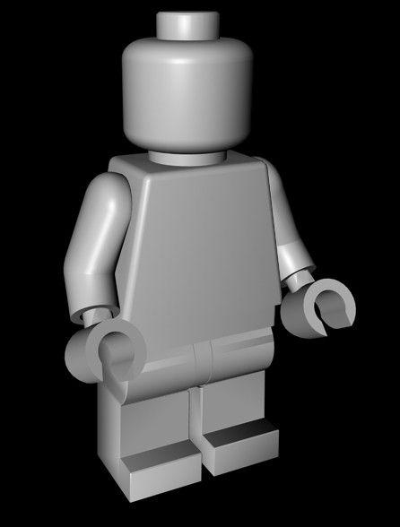 lego man 3d model - Lego Minifigure by anton4ik55 | Design, model ...