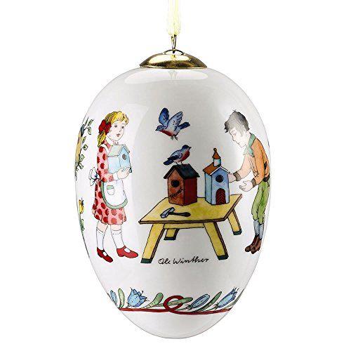 "'Hutschenreuther Osterfrühstück ""722106Porcelain Mini Egg Bird House 11cm in Gift Box Hutschenreuther http://www.amazon.co.uk/dp/B00SFOFYT0/ref=cm_sw_r_pi_dp_BQw6wb146TKQF"