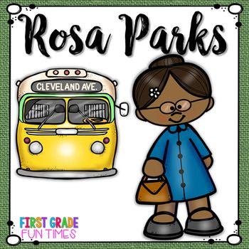 rosa parks black history month activities pinterest black rh pinterest com rosa parks bus clipart Harriet Tubman Clip Art