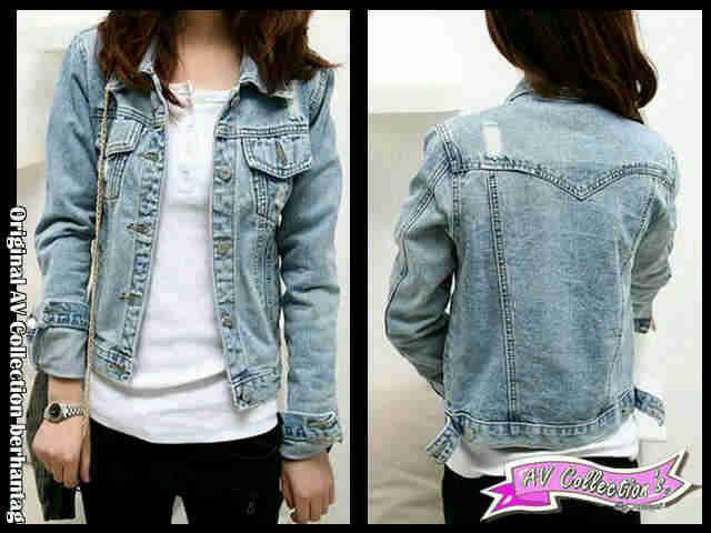 Jaket Soft Jeans Zara J23 Online dan Murah - http://www.butikjingga.com/jaket-soft-jeans-zara-j23