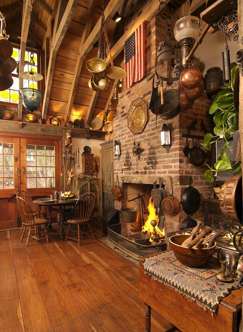 Historic Kitchen Renovation Pegged Timber Framed Rafters Old Town Alexandria Va Franck