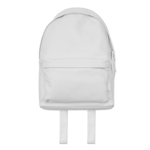 STAMPD - White Leather Backpack | All I Wanna Get | Pinterest ...