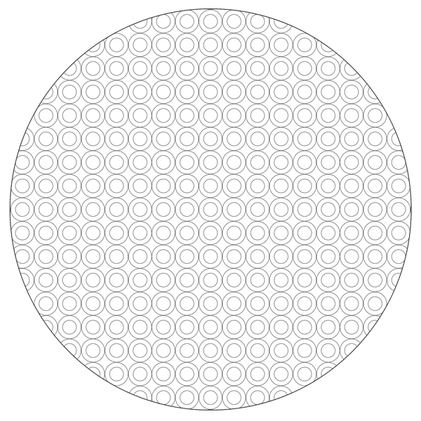 Free circle pattern mandala coloring page babadoodle for Circle pattern coloring pages