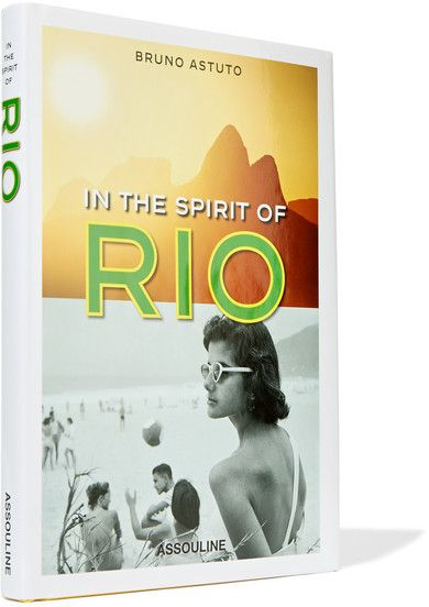 Assouline - In The Spirit Of Rio By Bruno Astuto Hardcover Book - Yellow