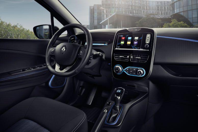 2016 Renault Zoe Interior Renault Zoe Renault First Drive