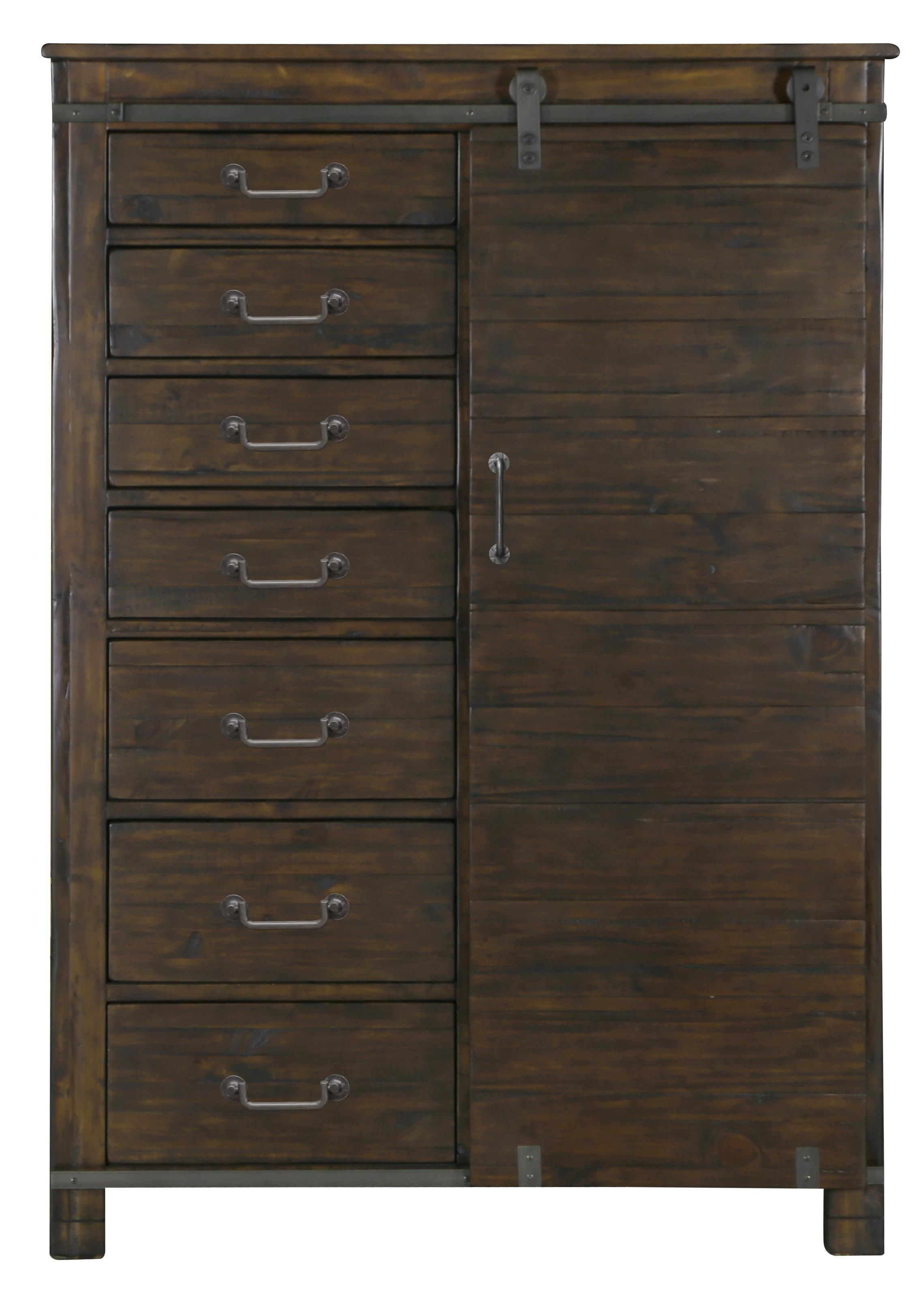 Pine hill door chest by magnussen home at miskelly furniture