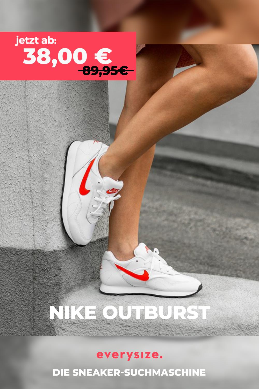 Nike Wmns Outburst in weiss AO1069 106 | Nike, Schuhe