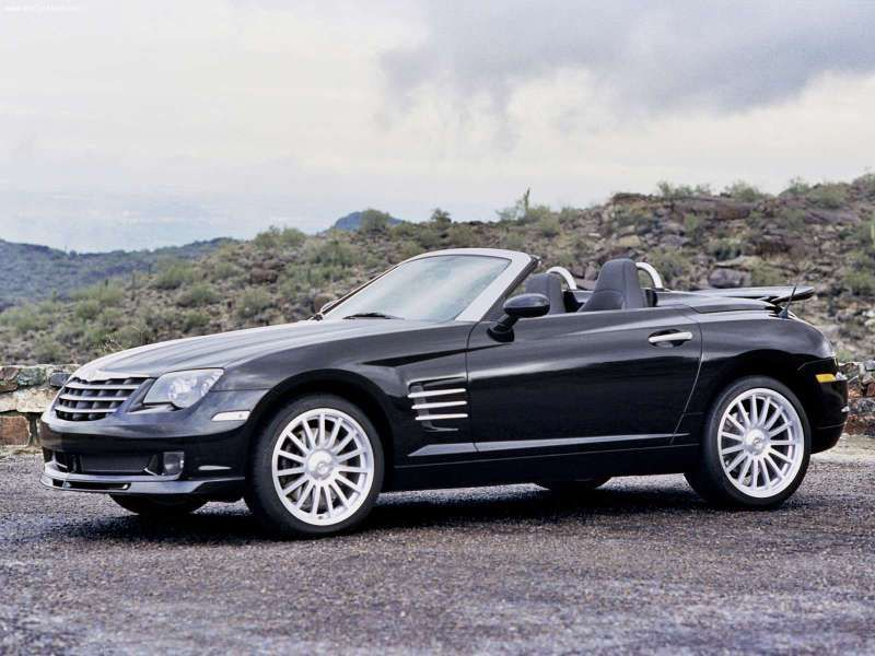 Chrysler Crossfire Srt6 Roadster Cute Car A Lady Followed Me