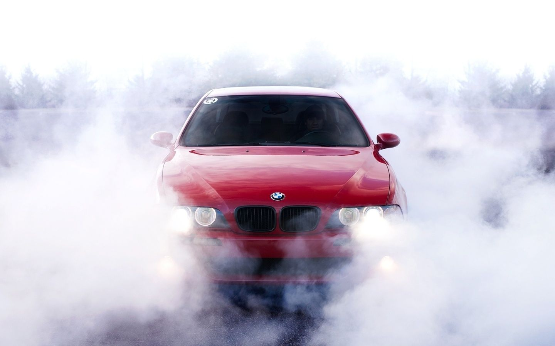 1440x900 Car Bmw Wallpaper Car E39 Wallpapers Smoke M5 Bmw Bmw Wallpapers Bmw Cars Bmw Series