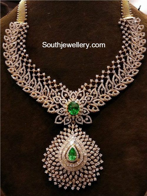 chain necklace double gemstone canada with gold diamomd tw ann diamond in jewellers white louise halo sale necklaces pendant