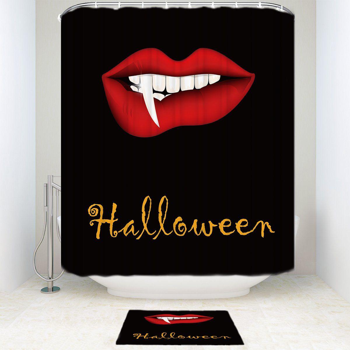 Pin On Halloween Shower Curtain [ 1200 x 1200 Pixel ]