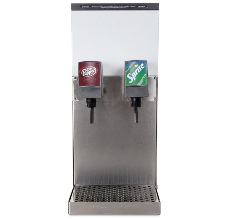 2 Flavor Counter Electric Soda Fountain System Remanufactured In
