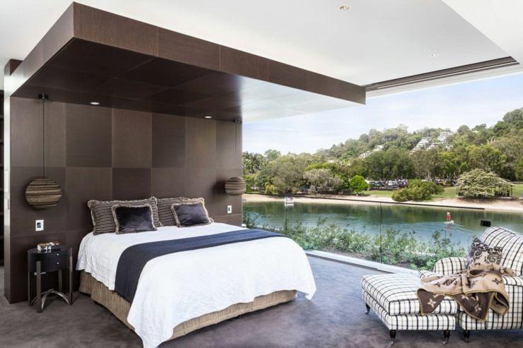 llgance et le style contemporain dune maison darchitecte - Chambre A Coucher Style Contemporain