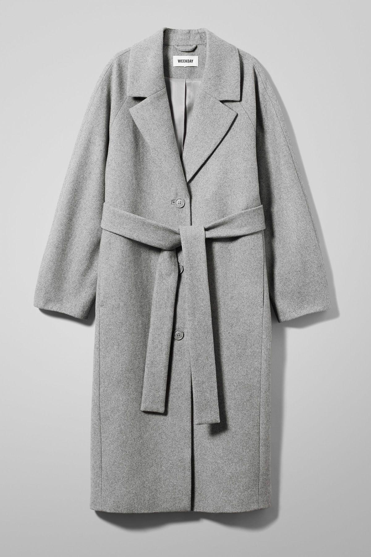 Quilted Long Jacket Dark Green Jackets & Coats ARKET