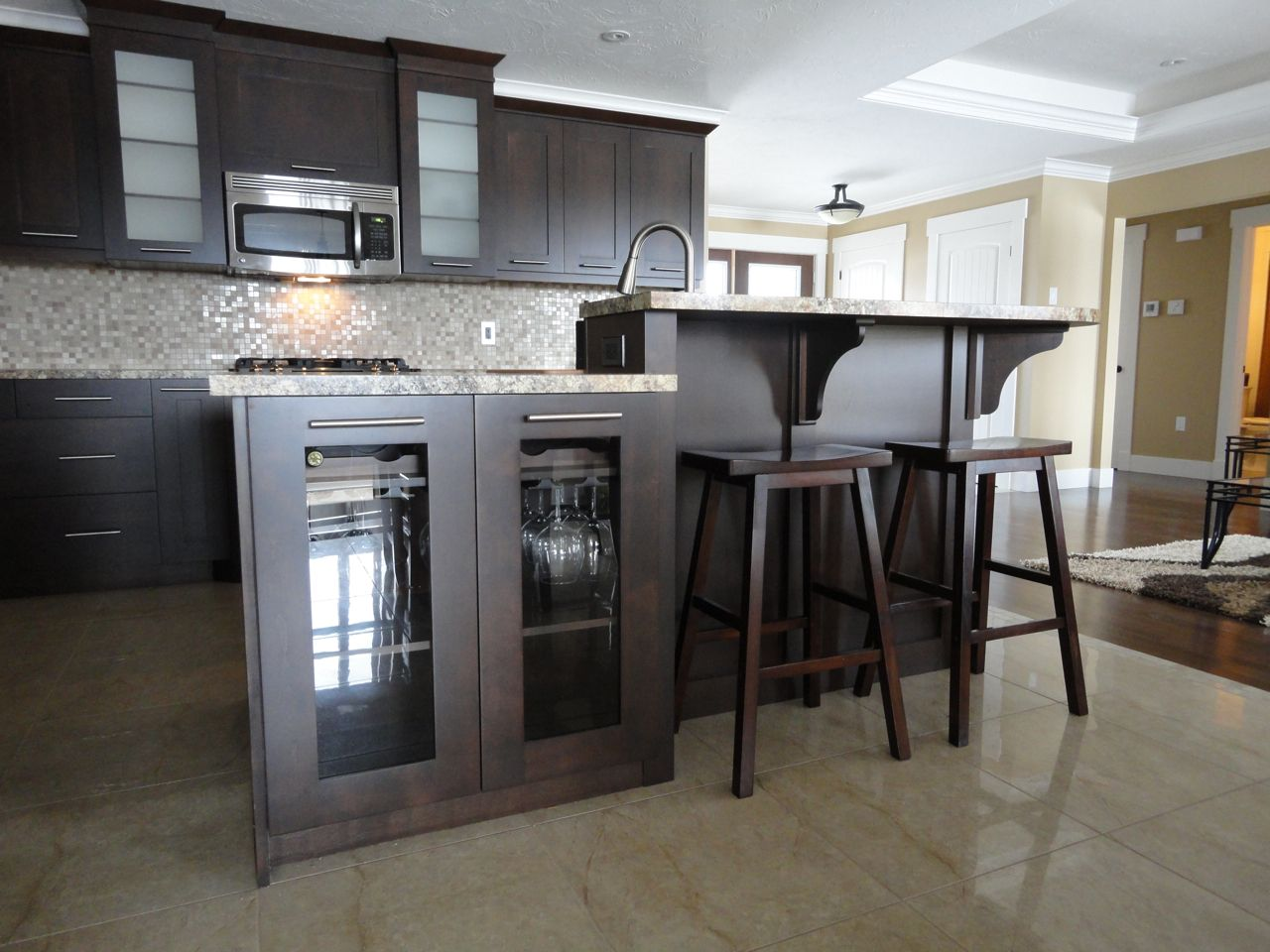 Best One Of Our Beautiful Kitchens Kitchen Dark Brown 640 x 480