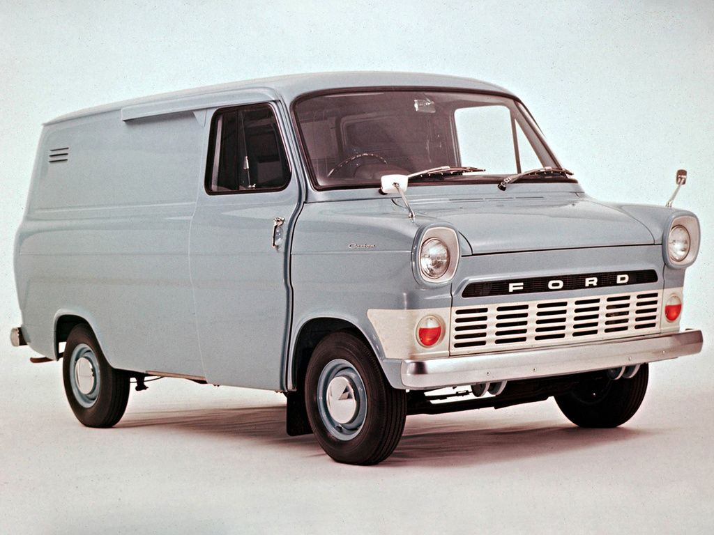 1966 Ford Transit Van Yes 50 Years Ago Now Since Ford Launched