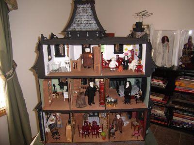 The Adams Family Dollhouse