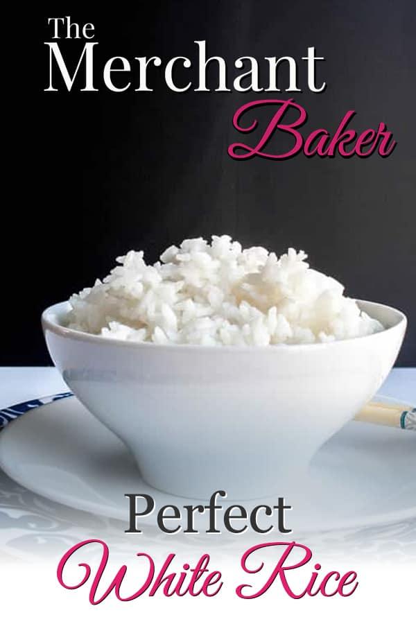 Perfect White Rice #whitericerecipes