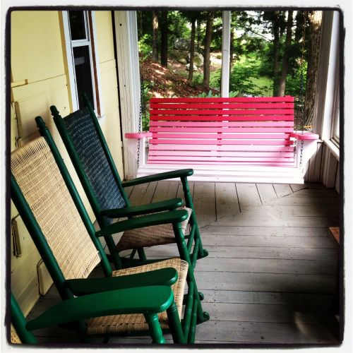 Ombre Porch Swing Porch Swing Diy Porch Swing Plans Diy Porch Swing