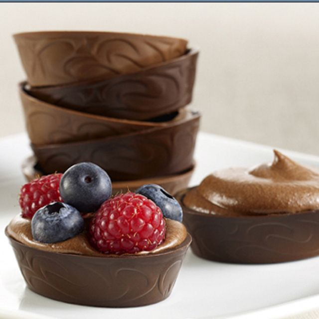 Chocolate mousse dessert cup!
