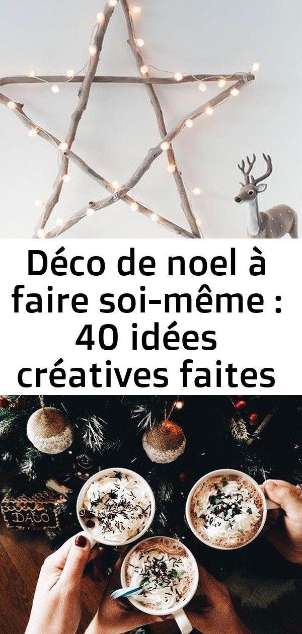 Déco de noel à faire soi-même : 40 idées créatives faites maison ! 4 #ideedeconoelafairesoimeme Déco de Noel à faire soi-même : 40 idées créatives faites maison ! ambiance deco Noël rétro tasses de chocolat chaud Tableau #ideedeconoelafairesoimeme