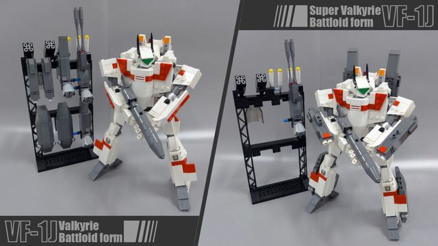 Vote for the Lego Macross Valkyrie on CUUSOO