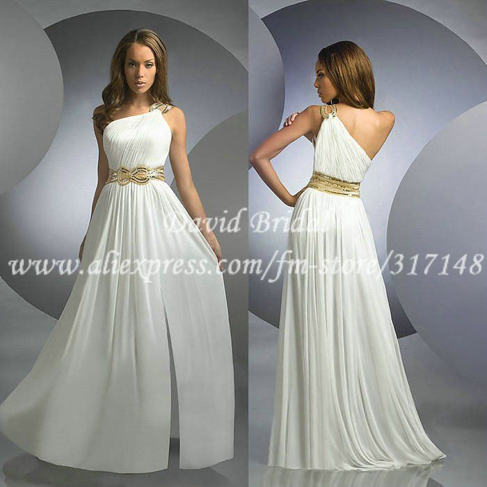 Collection Long White Prom Dresses Pictures - Reikian