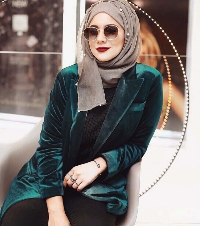 how to wear an infinity scarf as a hijab