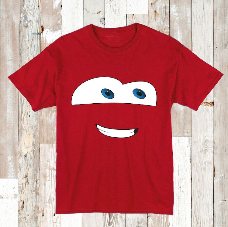 Disney Car Lightning McQueen TShirt Lightning McQueen Tees - Lightning mcqueen custom vinyl decals for car