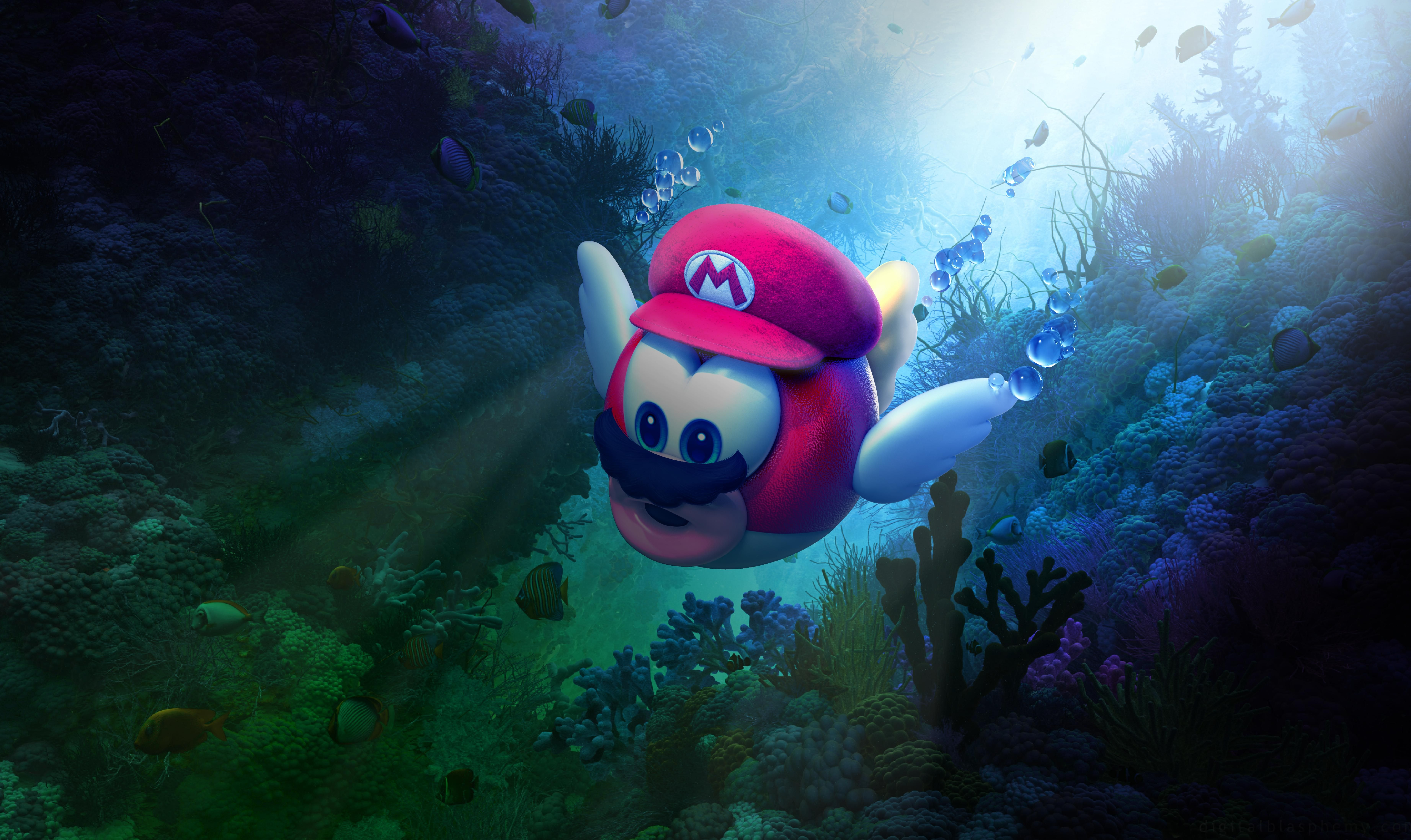Super Mario Odyssey Games Hd 4k Wallpapers