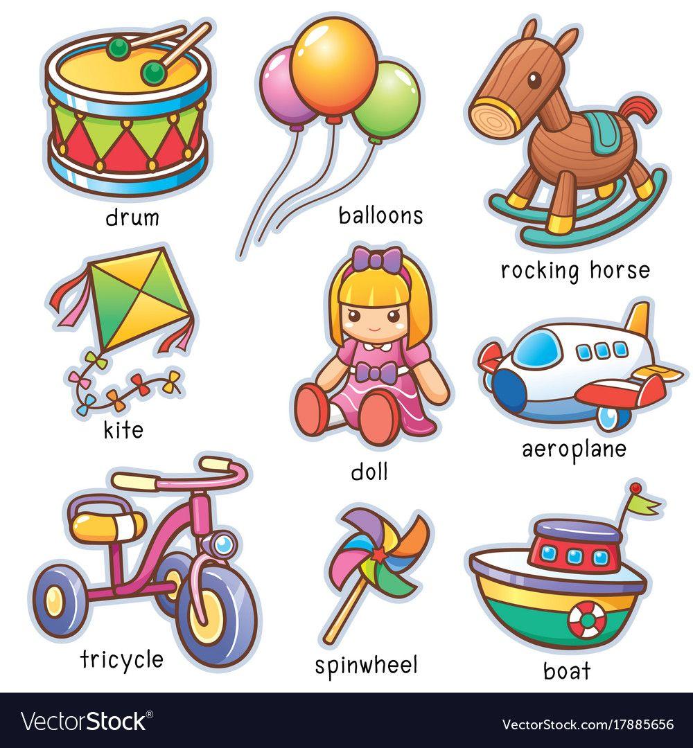 картинки игрушек на английском два