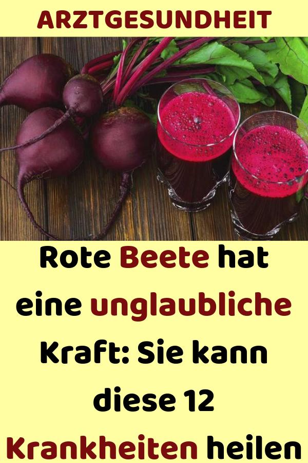 Rote Beete hat eine unglaubliche Kraft: Sie kann diese 12 Krankheiten heilen #ernährung #abnehmen #natur #gesund #leben #naturalcures