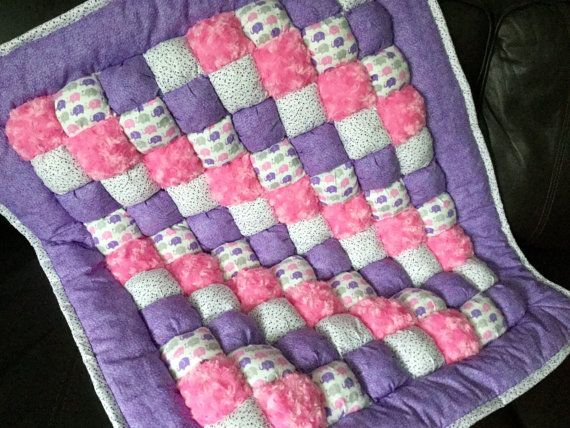 Bubble Quilt Bubble Blanket Puff Quilt Baby by SewWrightSistahs ... : baby puff quilt - Adamdwight.com