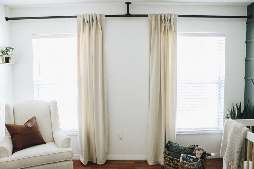 Diy Curtain Rod Diy Curtain Rods Diy Curtains Curtain Rods