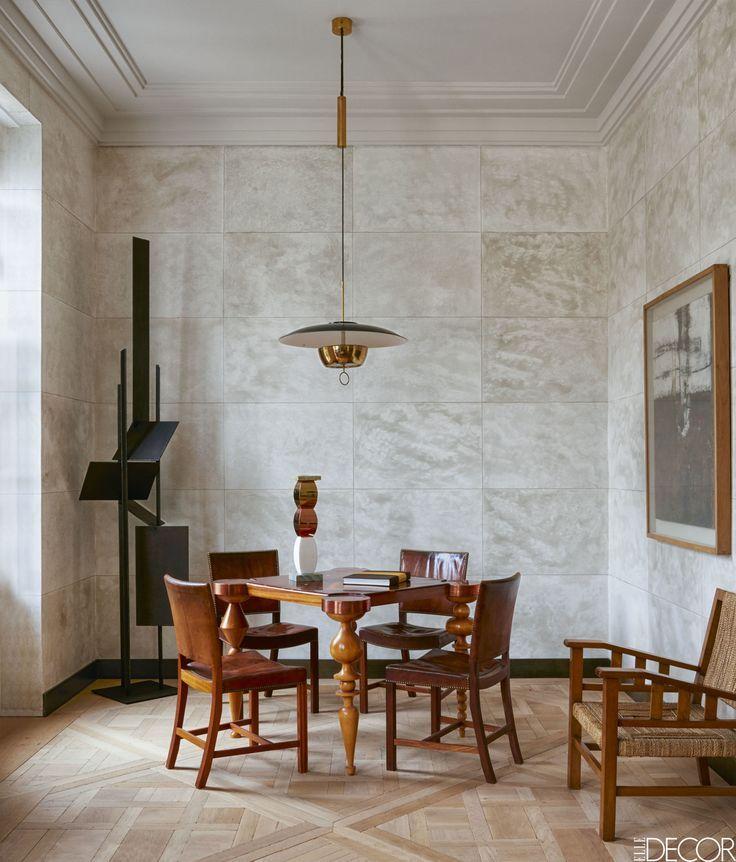 cool Salle à manger - In the living room, an Art Deco games table - decoration de salle de sejour