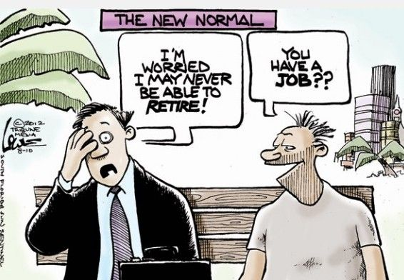 The New Normal Dark Humor Employment Austerity Editorial