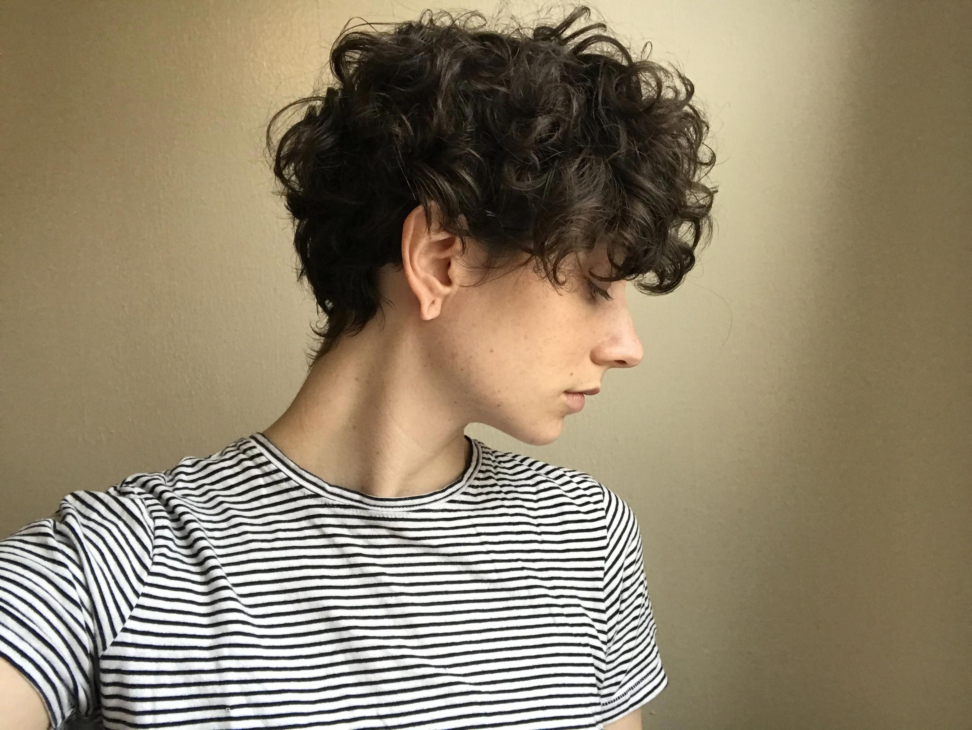 Pin On Short Curly Pixie
